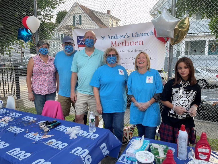 St. Andrew's volunteers @ National Night Out